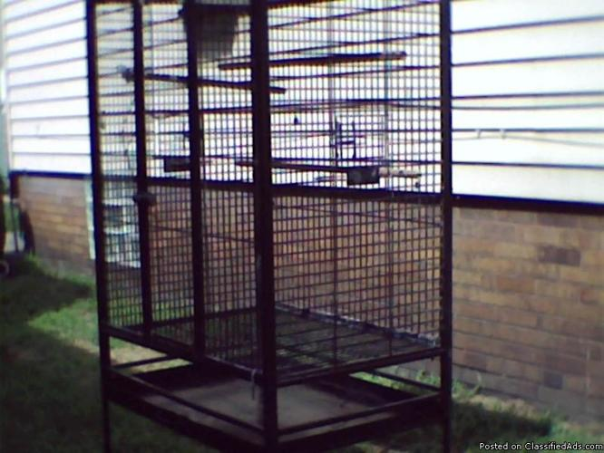big parrot cage for sale@@@@ sale pending - Price: $75.00