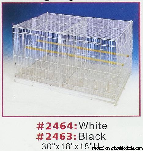 breeder double stack flight bird cage wanted - Price: $125.00