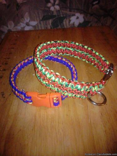 paracord dog Collar and more