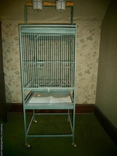 Parrot Cage for Amazon or African Grey. - Price: $75.00