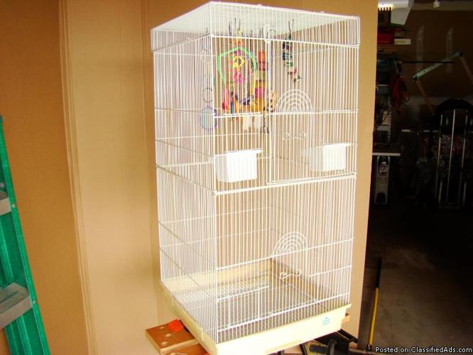 Two Bird Cages - Price: $125.00