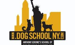 ********* Next Class Starts on January 7th, 2013 *********   Anthony Jerone's School of Dog Training & Career, Inc. is Licensed by the New York State Bureau of Education to train people to become a certified animal behavior consultant,
