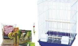 assorted sizes small to conure size birds with stands,flights