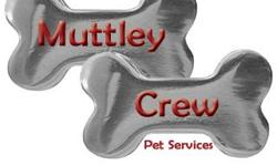 Muttley Crew Pet Services is the perfect solution for families that go on vacation but do not want to board their pets. Let your animals stay in the comfort of your own home and we will keep them happy while you are away! The Muttley Crew team does much