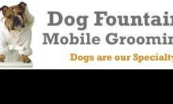Los Angeles mobile dog grooming service, offering mobile dog grooming in the entire Los Angeles County area. We come to you and use nothing but the finest shampoos and conditioners so that your dog will be pampered the way he/she deserves. We use green