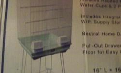 New Bird Cage Still in Box Easy to put together