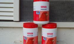 Red Factor Canaries Males $50.00 each - Sold Females $35.00 each -Sold Bogena Intensive Red 500g $80.00 each Ship 1  by USPO  $11.00 Ship 2 by USPO flat rate box $12.00 Shipping 6 by USPO flat rate box $17.00 Will accept Paypal