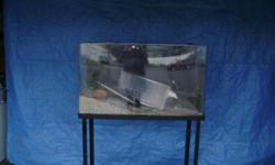 Salt water tank, stand and accessories $150.00 Please call Rhonda 206-854-5200