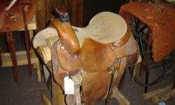 Used Tex tan Roper saddle. Great Shape. $699 Many other saddles available! Call us @ .. Riverside Boot & Saddle 742 w hwy 39 Blackfoot, ID 83221 Great deals on ropes, trailers & western wear too