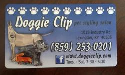 Full grooming service: We are conveniently located next to Eastland shoping centre. Call us for all Your dog grooming needs! So visit or contact us today ! www.doggieclip.com
