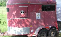 2003 CM Trailer Red Circuit Champ. In good Condition and it is local, Jonesborough.