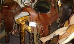 GREAT condition Circle Y of Yoakum Saddle. Pleasure/Trail saddle.  Trades welcome. Hundreds of saddles in stock, new & Used. .. Riverside Boot & Saddle 742 W Hwy 39 Blackfoot, ID 83221 Come See us today!