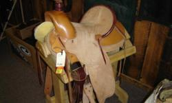 Very clean used Wade Buckaroo Saddle. We have all kinds of used saddles in stock. Great shape. We also carry new Circle Y & Billy Cook Saddles. Trades accepted Contact us @ .. or come see us. Riverside Boot & Saddle 742 W Hwy 39 Blackfoot, ID 83221