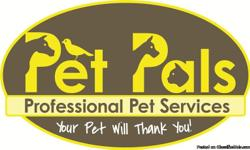Pet Pals LLC is the premier locally owned and operated pet services company proudly serving Sioux Falls and the surrounding area. Fully insured and bonded, our services are dedicated to the happiness and welfare of your pets. In home pet sitting, Pet